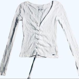 White long sleeve shirt from Hollister